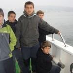 Viaje en barco por la ría de Vigo